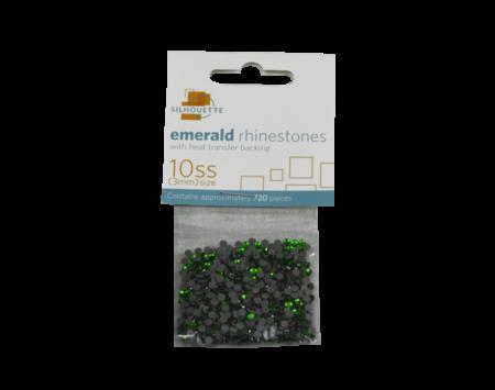 strass trasparenti smeraldo 3mm