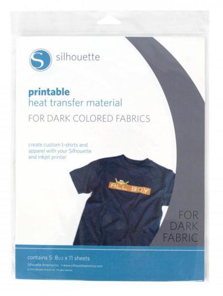 Termotrasferibile stampabile per tessuti scuri