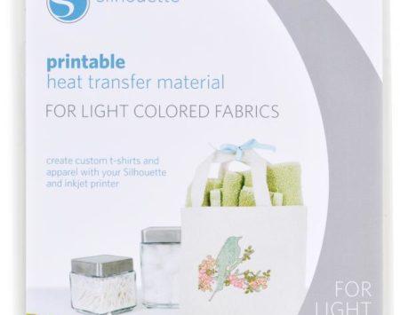 materiale termotrasferibile per colori chiari
