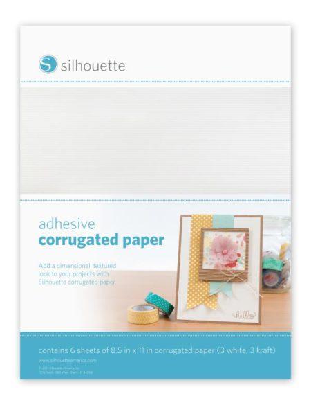 cartoncino corrugato adesivo