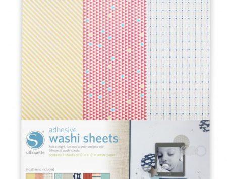 Carta Washi adesiva Silhouette per CAMEO