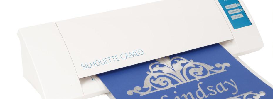 Silhouette New CAMEO con un lavoro di stencil