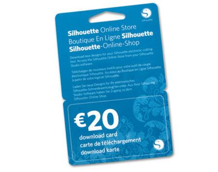 Downlaod card da 20 euro