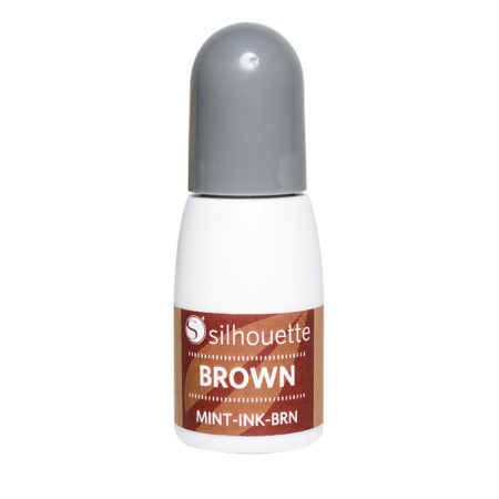Inchiostro marrone per Silhouette Mint - Creativamenteplotter