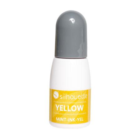 Inchiostro Timbri Giallo Silhouette Mint Creativamenteplotter MINT-INK-YEL