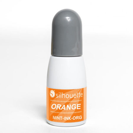Inchiostro Orange Silhouette Mint MINT-INK-ORG Timbri Creativamenteplotter