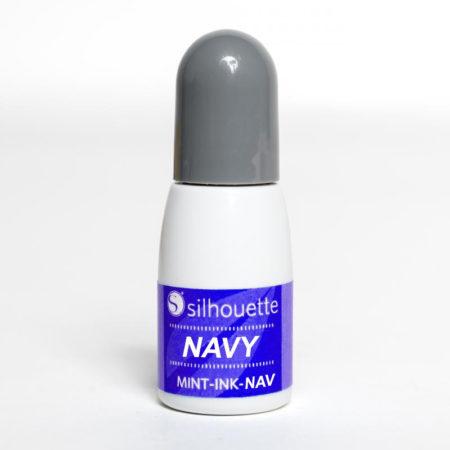 Inchiostro Navy Silhouette Mint MINT-INK-NAV Timbri Creativamenteplotter