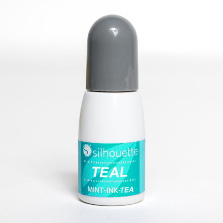 Inchiostro Verde Acqua Teal Silhouette Mint MINT-INK-TEA Timbri Silhouette Creativamenteplotter