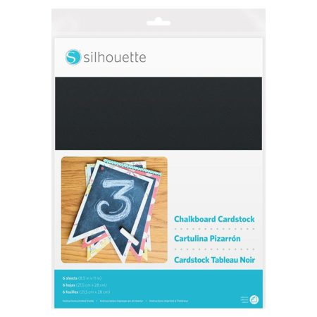 Silhouette Chalkboard Cardstock cartoncino effetto Lavagna CARDSTOCK-CHALK Silhouette Cameo Curio Portrait