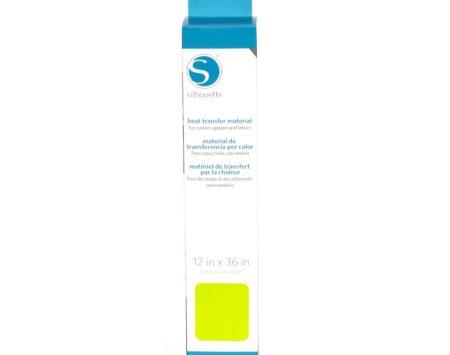 Silhouette Trasferimento Termico Liscio Lime 305 mm x 90 cm HEAT-12SM-LIME per Cameo 3 Curio New Cameo Portrait Cameo