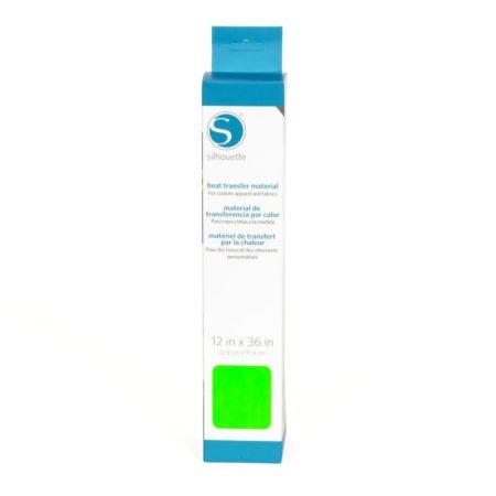 Silhouette Trasferimento Termico Liscio Neon Green 305 mm x 90 cm