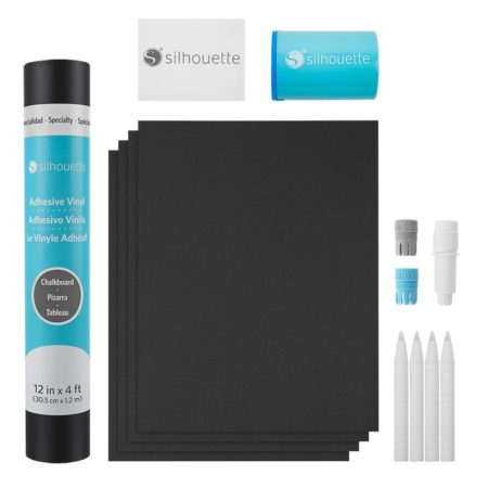 Silhouette Gessetti lavagna Chalkboard Starter Kit KIT-CHALK per Silhouette Cameo 3, Portrait, New Cameo, Curio, Cameo