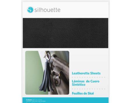 Silhouette fogli similpelle MEDIA-LTHRT per decorazioni effetto pelle con Silhouette Cameo, Cameo 3, Curio, Portrait, New Cameo