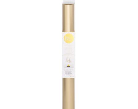 Heidi Swapp Minc Foil Champagne rotolo di pellicola per doratura 311 mm x 3049 mm Creativamenteplotter