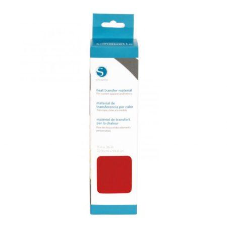 Silhouette Trasferimento Termico Liscio Rosso HEAT-12SM-RED 305 mm x 90 cm Creativamenteplotter distributore ufficiale Silhouette Cameo 3 Portrait Curio