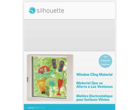 Pellicola stampabile per vetrofanie trasparente Silhouette MEDIA-CLING-CLR Creativamenteplotter per Silhouette Cameo 3 Curio Portrait busta