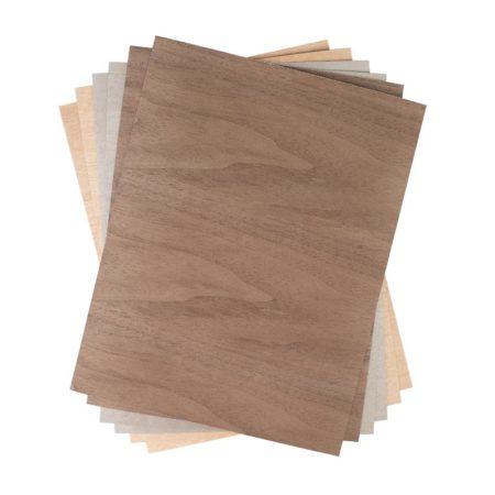 Silhouette Media-Wood-2 legno adesivo per decorazioni. Per taglierine elettroniche Silhouette Cameo Portrait Curio. Creativamenteplotter importatore ufficiale Silhouette America Legno adesivo Silhouette