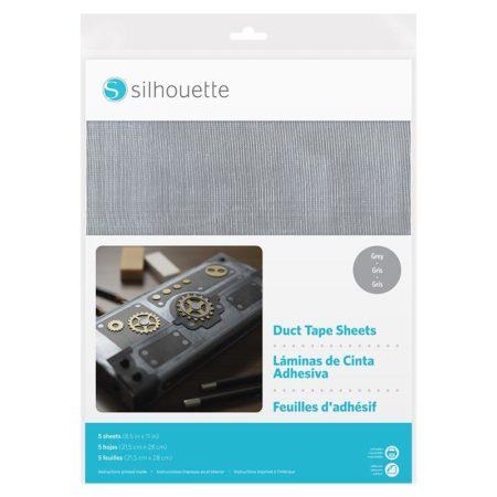 Nastro americano adesivo grigio stampabile Silhouette MEDIA-DUCT-GRY Creativamenteplotter importatore ufficiale Silhouette