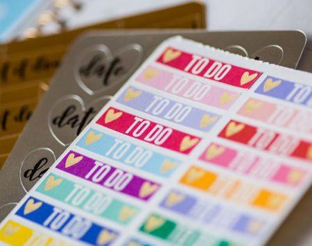 Silhouette Sampler Pack Etichett SAM-STICKER Creativamenteplotter etichette per Silhouette Cameo Portrait Curio