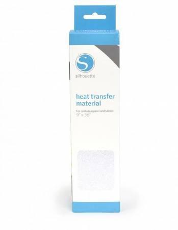 Silhouette Trasferimento Termico Glitter Bianco Candido 305 mm x 90 cm