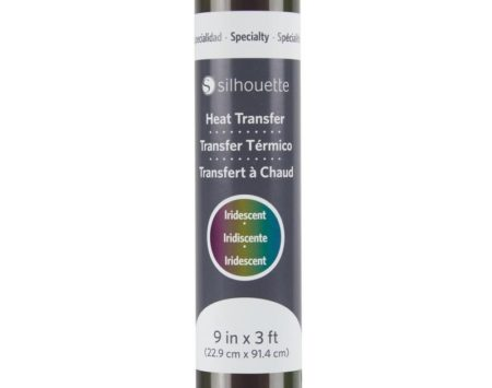 Silhouette Trasferimento Termico Iridescente Multicolor HEAT-9IR-MUL 22,9 cm x 91,4 cm