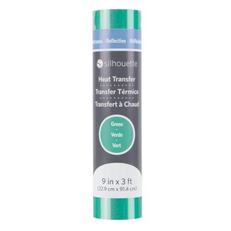 Silhouette Trasferimento Termico Riflettente Verde HEAT-9REFL-GRN 22,9 cm x 91,4 cm