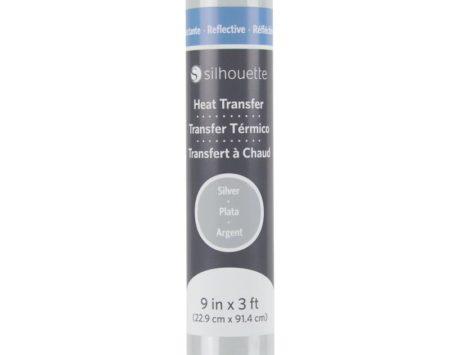 Silhouette Trasferimento Termico Riflettente Argento HEAT-9REFL-SVR 22,9 cm x 91,4 cm