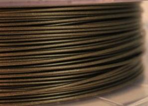 Filamento PLA 1,75mm bronzo antico per stampa 3D compatibile con Silhouette Alta stampante tridimensionale