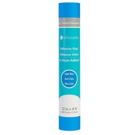 Silhouette Vinile Texture Traslucido Azzurro 30,5 cm x 122 cm V12-TT-LTBLU