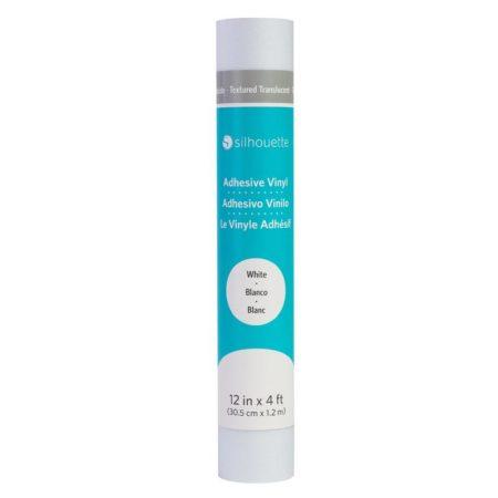 Silhouette Vinile Texture Traslucido Bianco 30,5 cm x 122 cm V12-TT-WHT