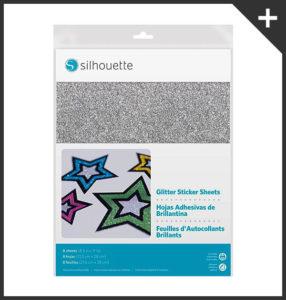 Carta-adesiva-glitter-argento-stampabile-Silhouette