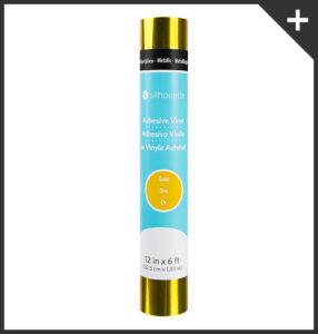 Rotolo-vinile-adesivo-oro-Silhouette-Creativamente-Plotter