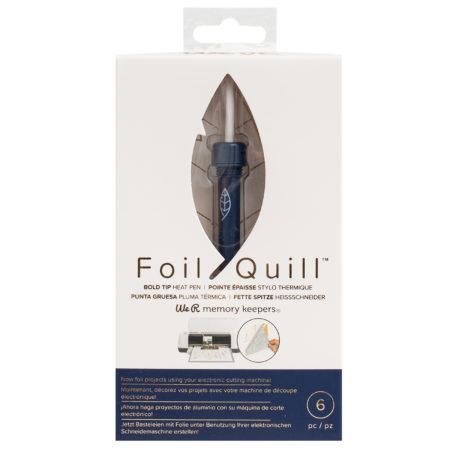 Foil Quill Punta Grande 2,5mm per doratura a caldo con Silhouette Cameo Cricut Brother