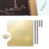 Foil Quill Magnetic Mat 12 661000 UPC 633356610007 Per dorare con Silhouette Cameo Portrait Curio Cricut Scanncut Creativamenteplotter importatore ufficiale Silhouette e American Crafts