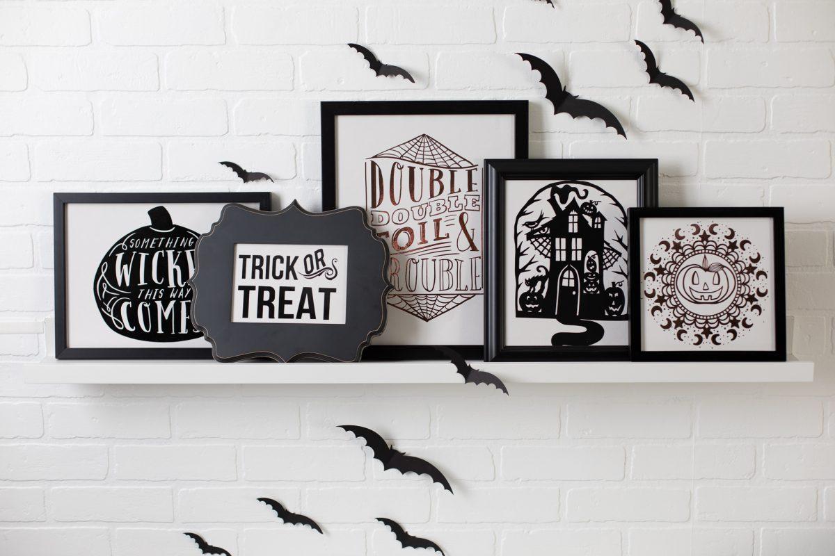 Quadretti Halloween fai da te Cameo 4