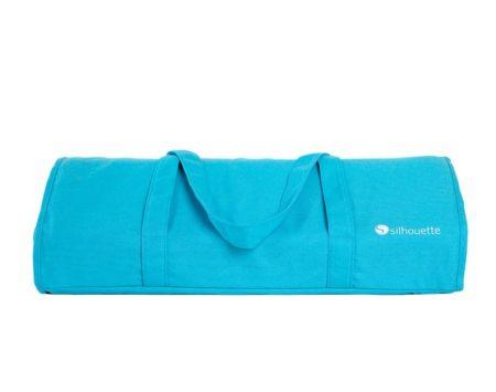 Borsa tracolla Silhouette Cameo 4 azzurra