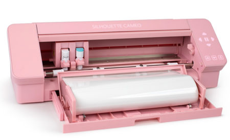 Nuova Silhouette Cameo 4 rosa pink