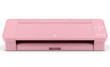 Silhouette Cameo 4 rosa pink Creativamente Plotter