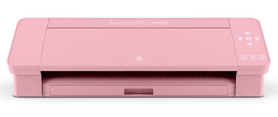 Silhouette Cameo 4 rosa pink Creativamente Plotter cut