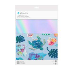 carta adesiva olografica Silhouette