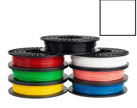 Filamento-PLA-bianco-satinato-Stampante-3d-Silhouette-Alta