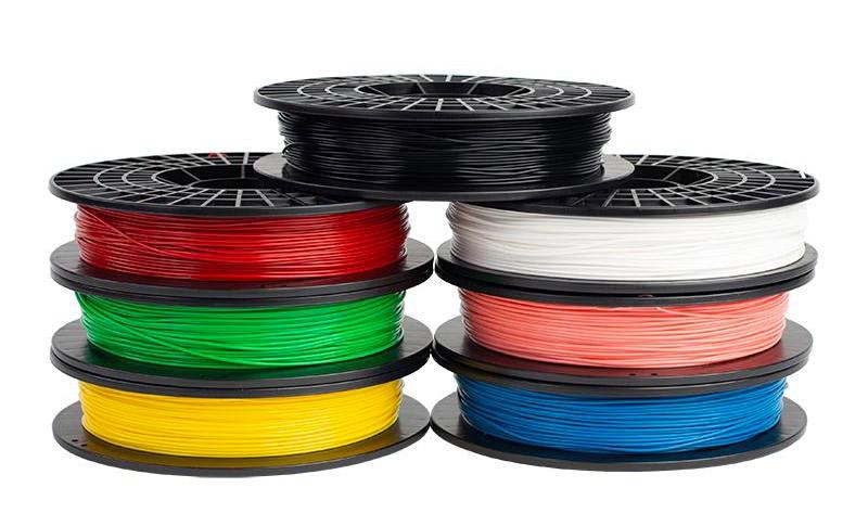 Filamento PLA colorato Stampante 3d Silhouette Alta