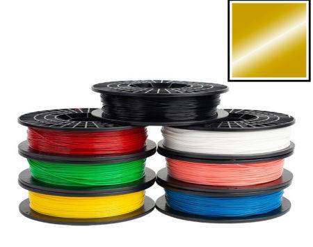 Filamento-PLA-oro-Stampante-3d-Silhouette-Alta