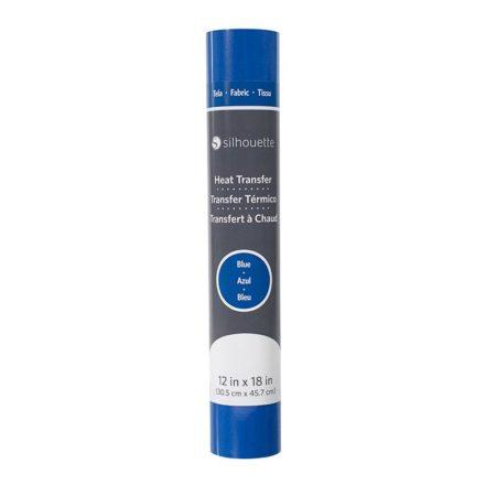Termotrasferibile tessuto Silhouette HEAT-12FB-BLU termovinile