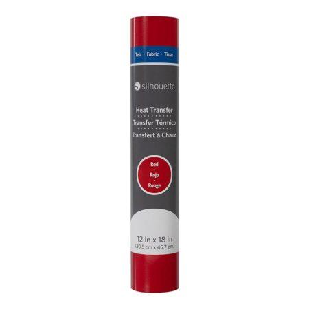 HEAT-12FB-RED termotrasferibile tessuto rosso creativamenteplotter importatore ufficiale Silhouette