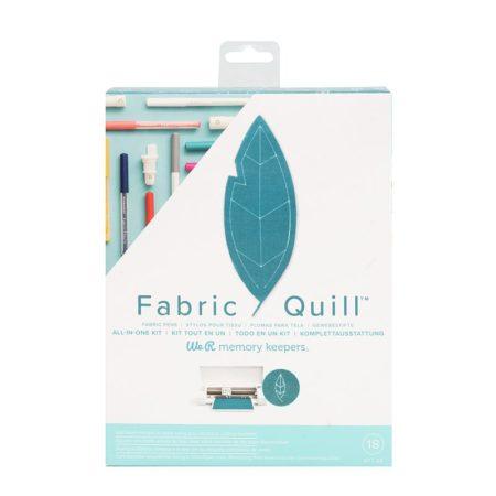 We R memory keeper Fabric Quill. Il sistema per disegnare su tessuti con la vostra Silhouette. fronte