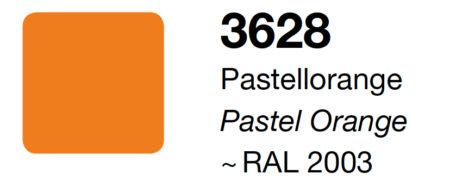 Vinile Adesivo Pastel Orange Opaco 30 cm x10 metri per taglio con Silhouette Cameo Portrait Curio