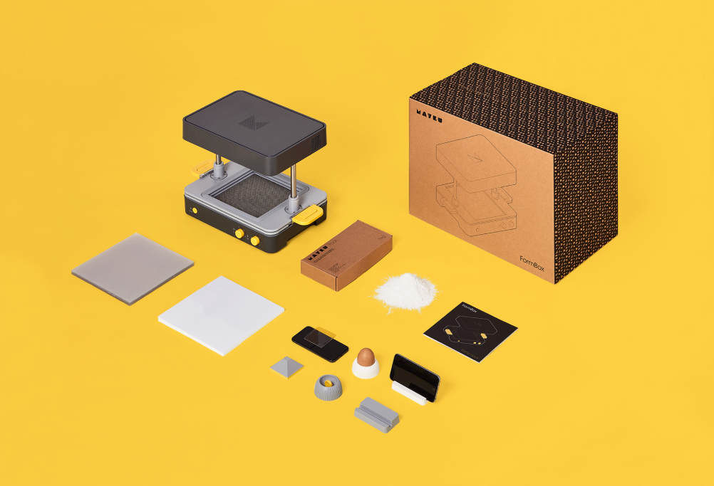 Starter kit termoformatrice Mayku Formbox