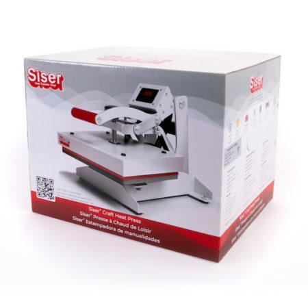 Termopressa per trasferimento termico Siser Craft Heat Press formato 22,8 cm x 30,5 cm