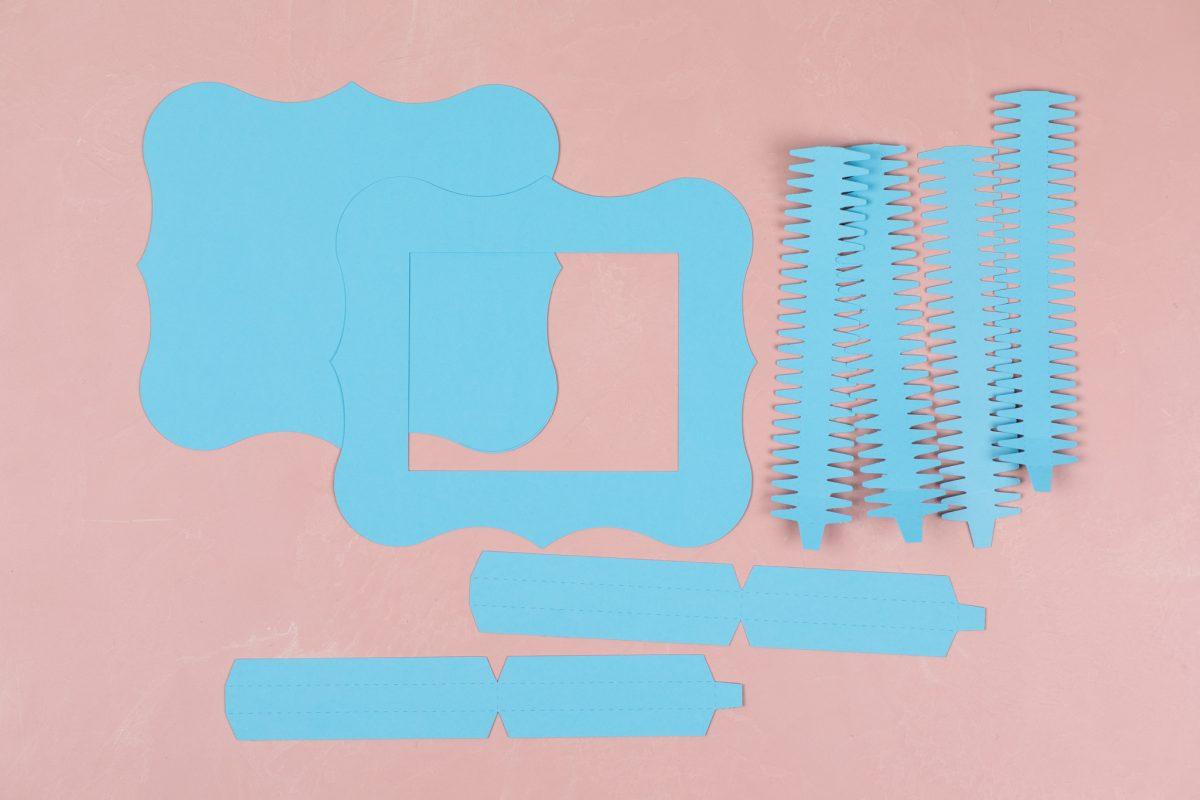 Creare cornice in cartoncino Silhouette Cameo 1